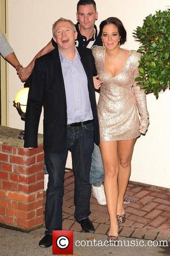 Tulisa Contostavlos outside the X Factor Studios in london [12.11.11]