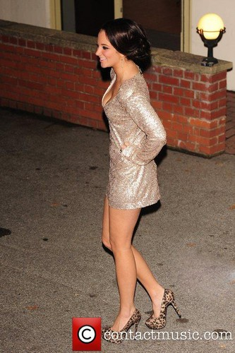 Tulisa Contostavlos outside the X Factor Studios in london [12.11.11]