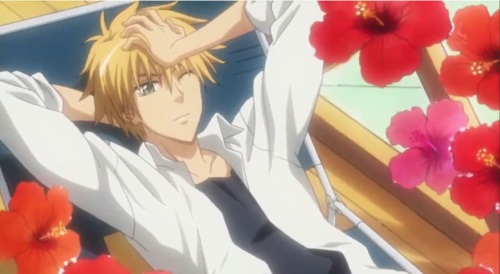 Kaichou wa Maid-sama wallpaper probably containing anime entitled Usui