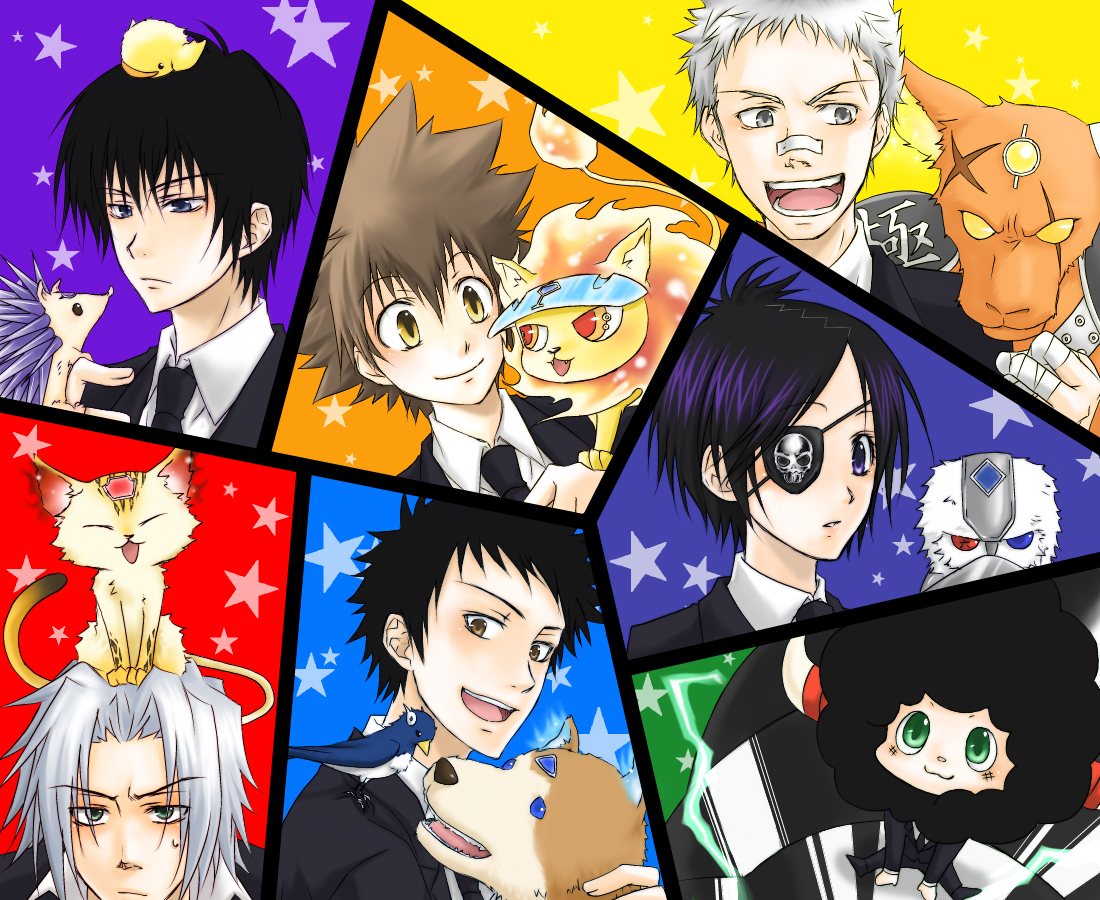 Vongola Family & Box binatang