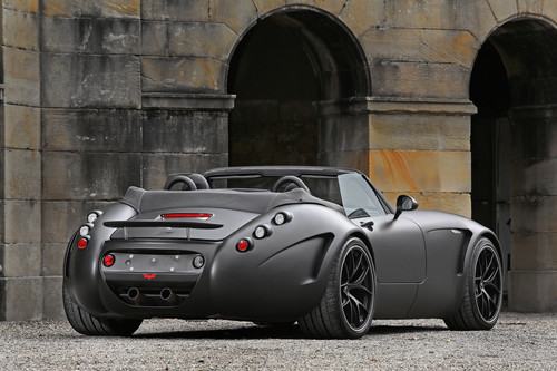 Sports Cars Wallpaper Entitled WIESMANN BLACK BAT