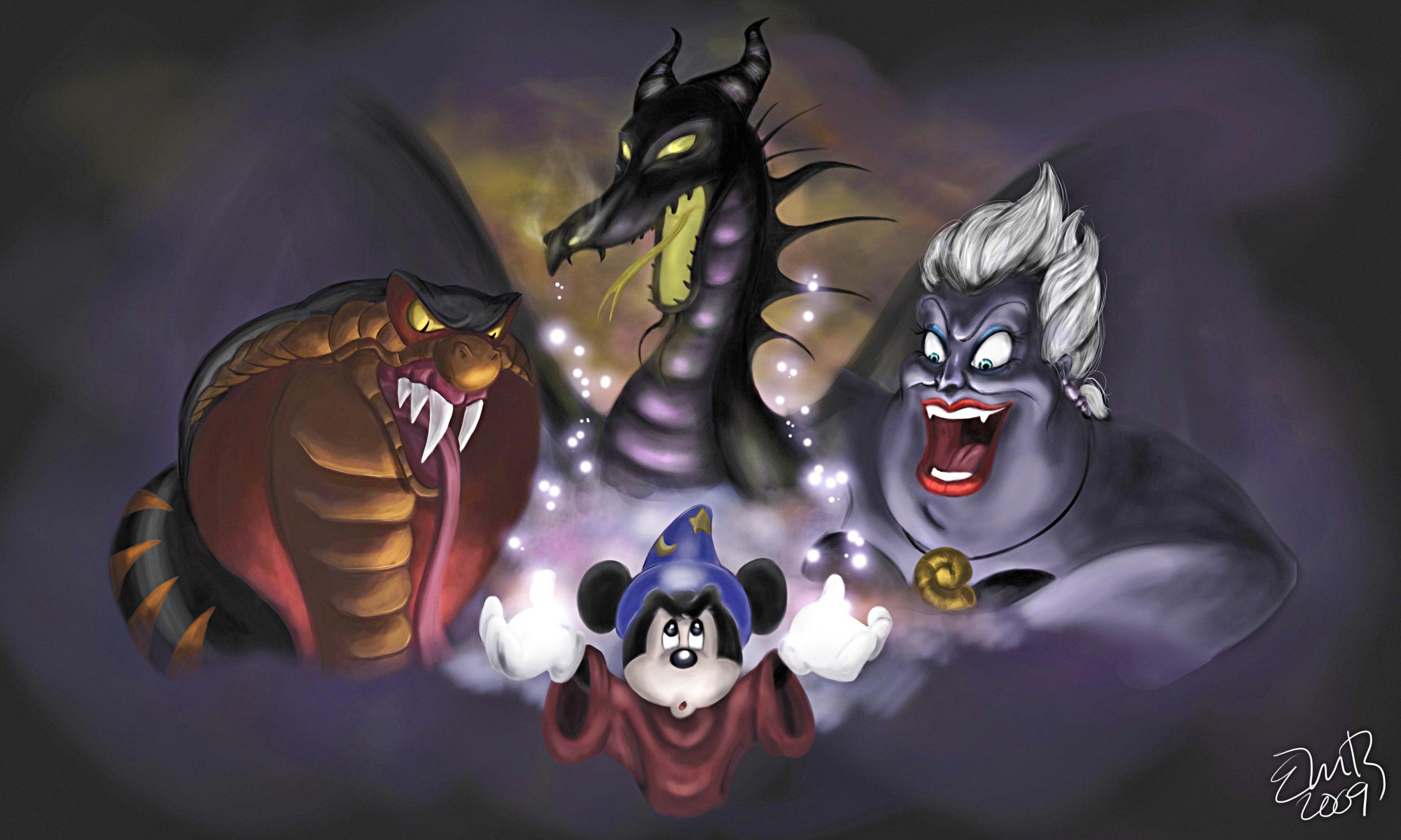 Walt Disney Fan Art - A Nightmare Fantasmic