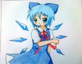 cirno - anime fan art