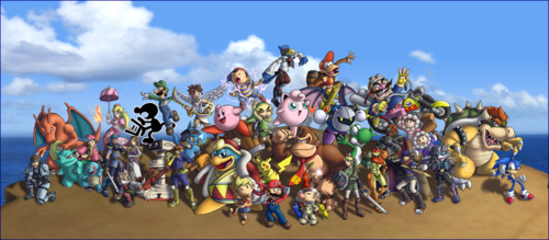 i don't know what to name this - super-smash-bros-brawl Fan Art