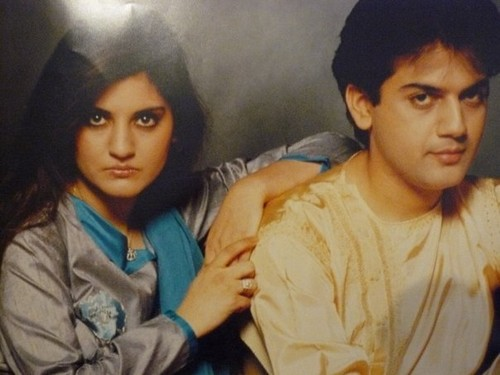nazia and her brother zohaib