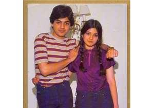 nazia with her brother