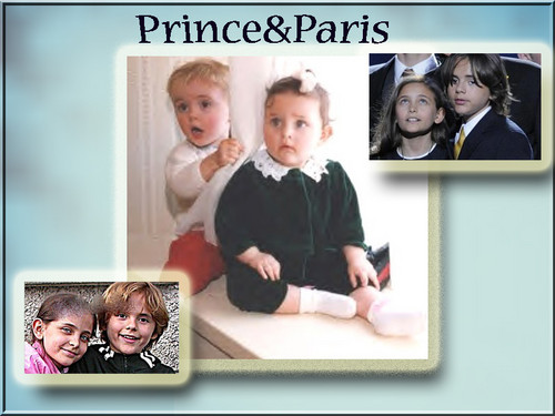 prince and paris - paris-jackson Wallpaper