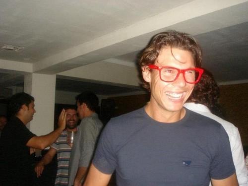 rafa with glasses
