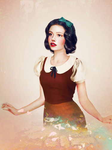 real life Snow white