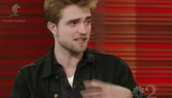 rob on Regis and kelly