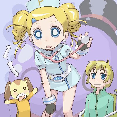 powerpuff girls Z achtergrond with anime titled rolling bubbles