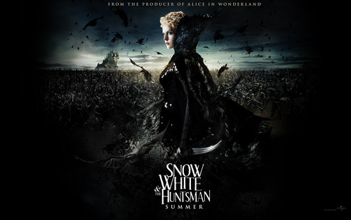 snow white and the huntsman charlize theron wall