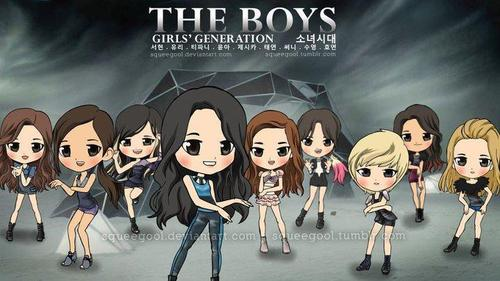 snsd the boys  - kpop-girl-power Fan Art