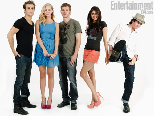 the vampire diaries comic con cast