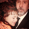 Helena Bonham Carter/Tim Burton photo with a business suit and a suit titled tim & helena