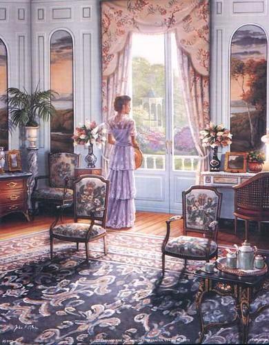 victorian art work