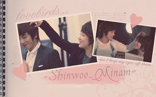Shin Woo and Go Mi Nan