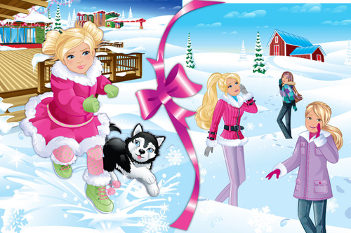 ☃barbie a perferct christmas