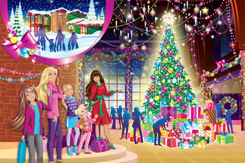 ☃barbie a perferct クリスマス