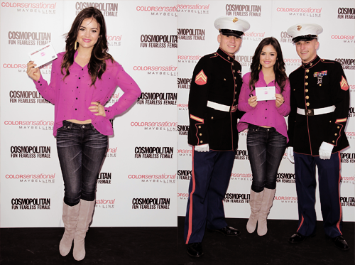 ►lucy hale;