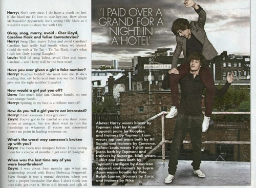 1D in 'OK' magazine! [Interview + pics] ♥