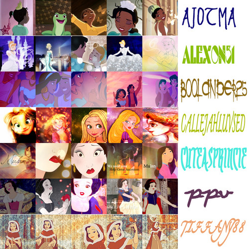 Disney Princess wallpaper entitled 20 in 20 icon challenge Round 6