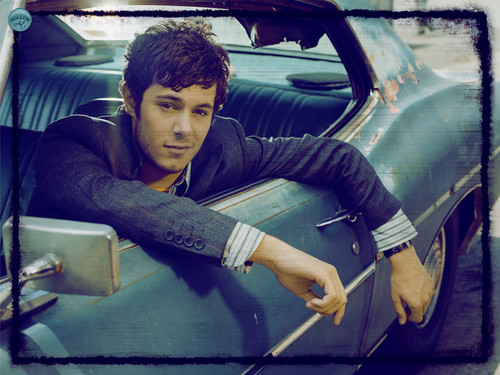 Adam Brody wallpaper possibly containing an automobile titled ADAM BRODY
