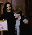 ALAN & DANIEL - harry potter and the deathly hallows part 2 extras (blue-ray and dvd) - snarry screencap