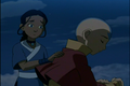 Aang & Katara - avatar-the-last-airbender screencap