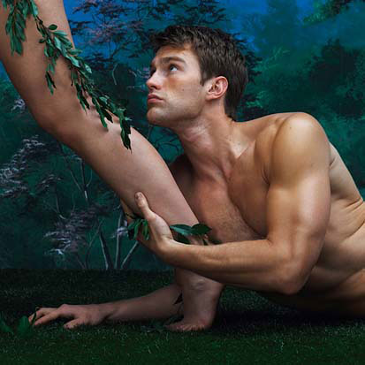 Sex and Sexuality wallpaper possibly with a hunk and skin entitled Adam and Eve