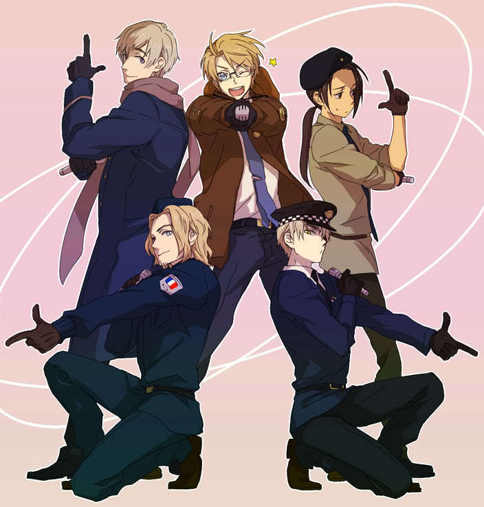 hetalia coloring pages allies - photo#43
