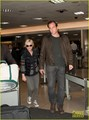 Amy Poehler & Will Arnett Land at LAX - amy-poehler photo