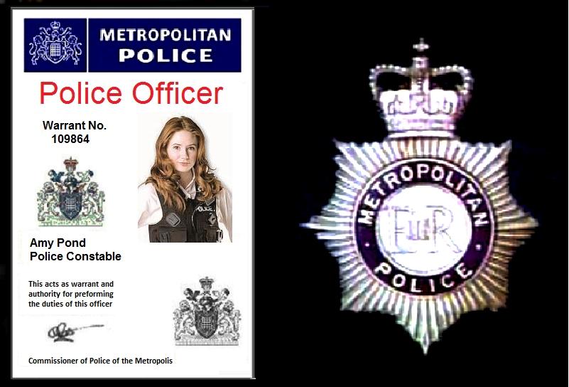 Amy Pond Police ID Card