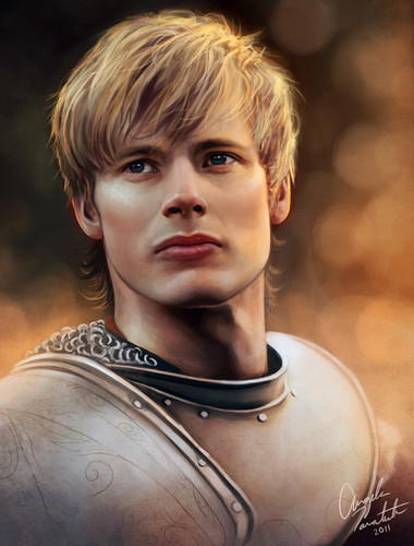 Arthur Pendragon Digital Painting