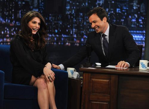 "Ashley Greene: Stills from ""Late Night With Jimmy Fallon"""