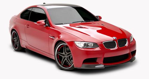 BMW E92 M3 によって VORSTEINER