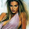Bar Refaeli photo with a portrait entitled Bar Refaeli