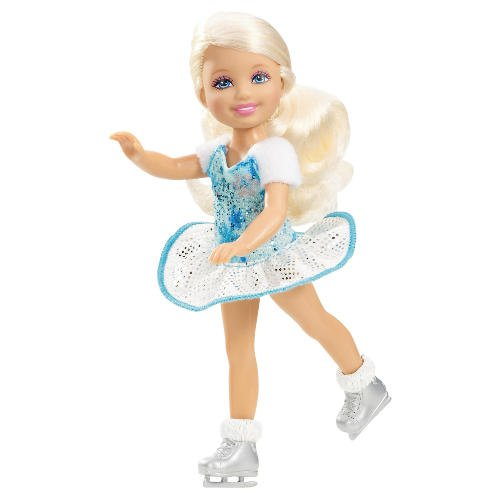 Barbie: A Perfect krisimasi - Kelly doll (ice skating?)