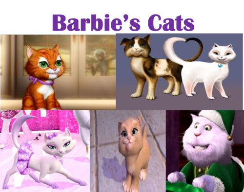Barbie's Cats