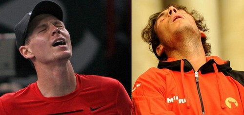 Berdych vs Nadal look alike