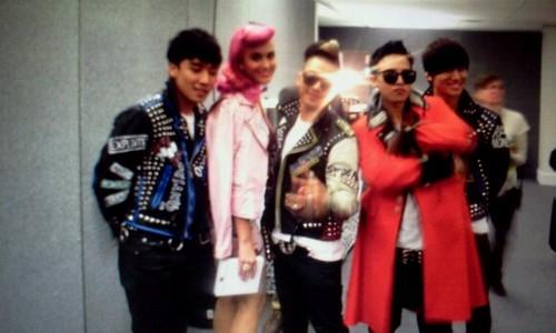 Big BAng MTV EMA with Katty Perry
