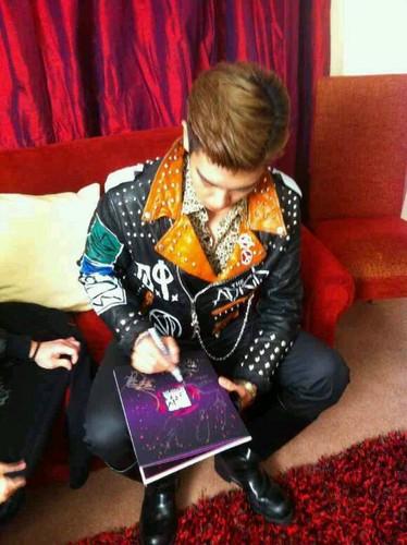 Big Bang MTV EMA pre