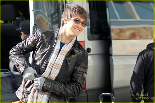 Big Time Rush: Leaving for LAX!