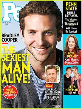 Bradley Cooper : People's Sexiest Man Alive !