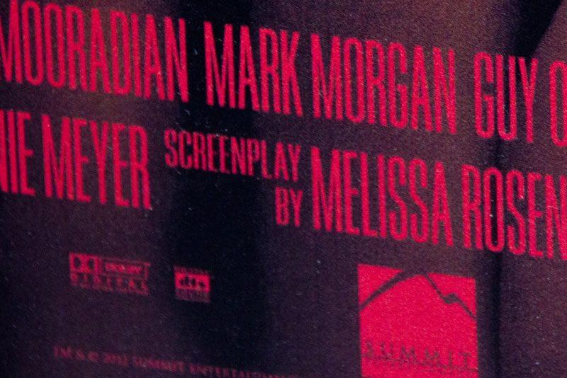 Breaking Dawn movie credits