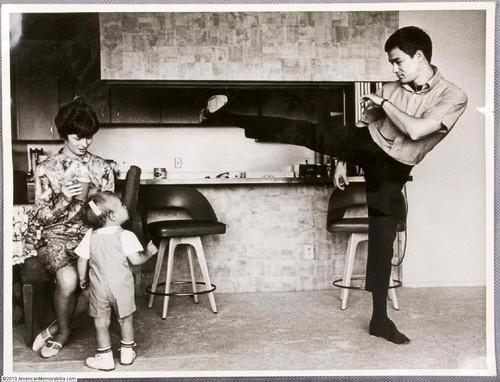 Bruce with Linda&Brandon