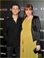 Bryce Dallas Howard and  Joseph Gordon-Levitt at the American Museum of Natural History on Tuesday  - bryce-dallas-howard photo