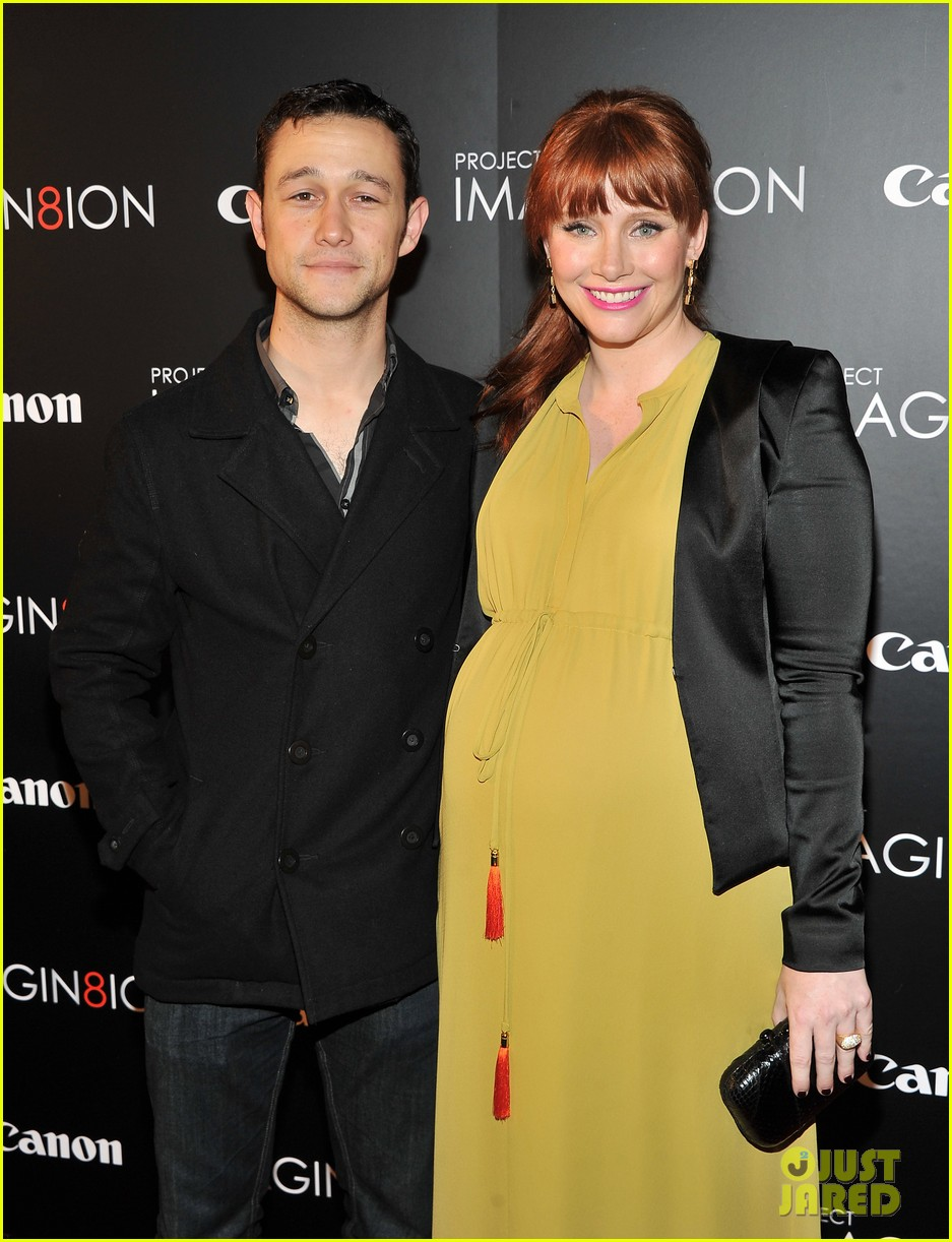 Bryce Dallas Howard and Joseph Gordon-Levitt at the American Museum of Natural History on Tuesday