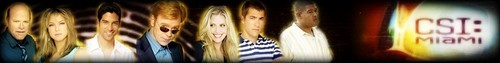 CSI: MIAMI Group Banner
