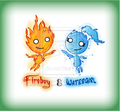 Cartoony syle - fireboy-and-watergirl photo